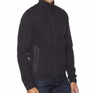 Arc'teryx Covert Cardigan zip up Black Heather
